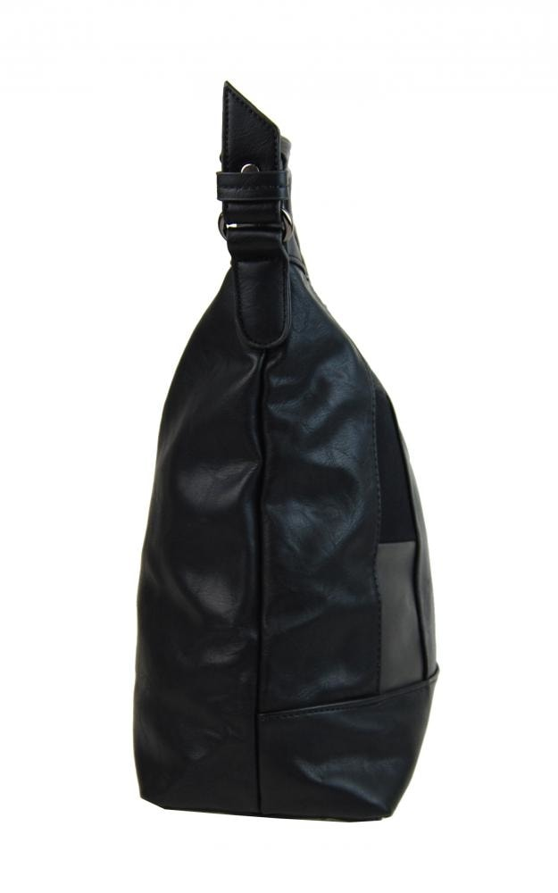 ... Elegantní kombinovaná dámská kabelka se vzorem NH6071 černá ... d419ca8d7d