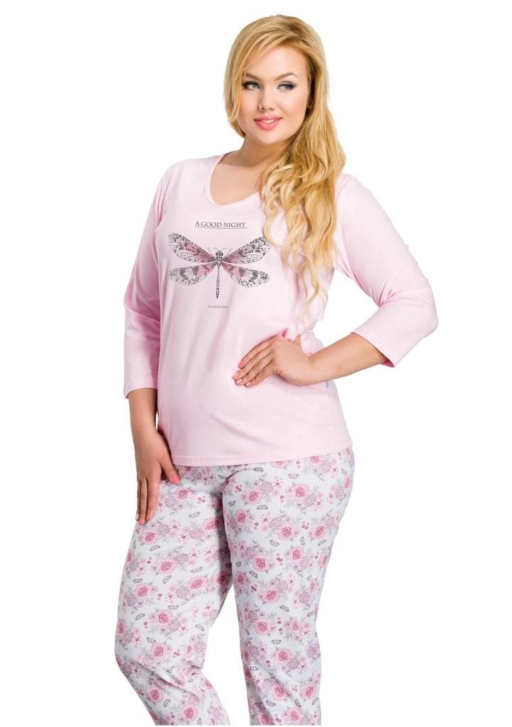 6dbc72270586 Dámské pyžamo nadměrné velikosti Felicja