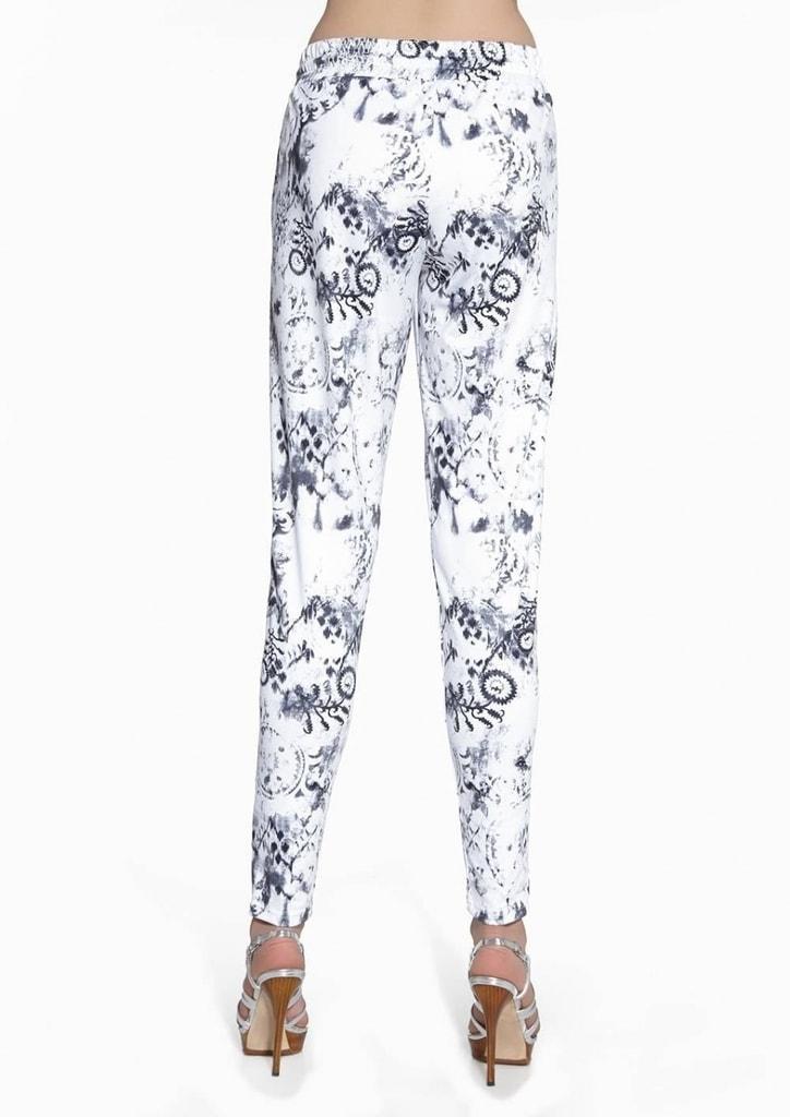 Kalhoty dámské dlouhé bokové - zkrácené 99519  a8fbd35573
