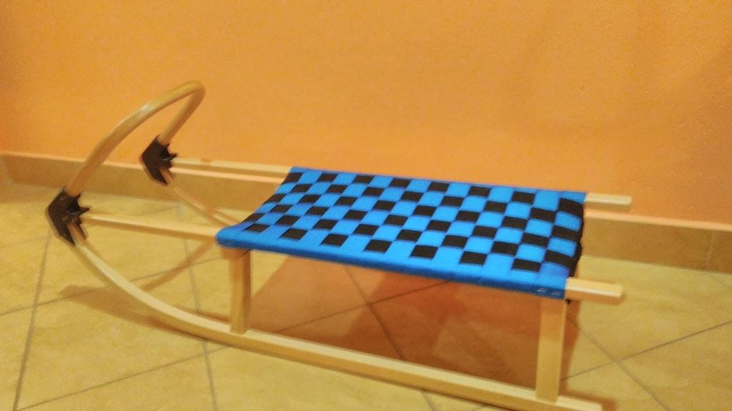 00e3c86e6a Acra Superjet plastový bob 05-A2032 1 - modrý