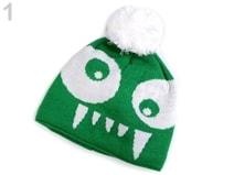 01a24c7c258 Chlapecká zimní čepice Capu · 1 zelená ...
