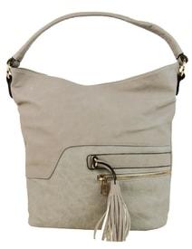 Elegantní kombinovaná dámská crossbody kabelka F1349 krémově šedá a7ce91a71bd
