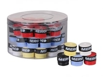Merco Team 0 5 overgrip omotávka tl  0 5mm   box mix 50ks
