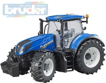 03120 Traktor New Holland T7.315 modrý model 1:16 plast