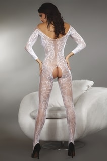 Bodystocking Zita white