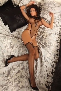 Bodystocking Hessa black