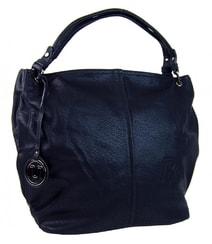 7bc749105c Modrá kabelka na rameno s ozdobou 1904-BB