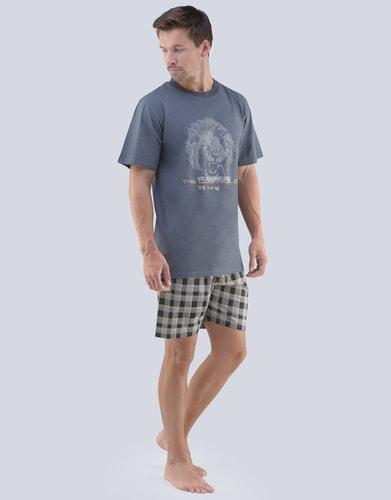 97396f5d68c2 Krátké pánské pyžamo s potiskem 79064P