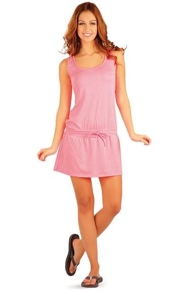 Růžové letní šaty 89303  c81aa00b1f