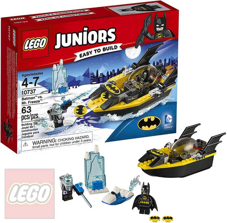JUNIORS Batman vs. Mr. Freeze STAVEBNICE 10737 | Lego | Mikaton.cz