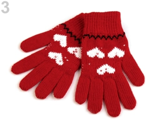 d9d6ab929fd Dětské pletené rukavice Capu