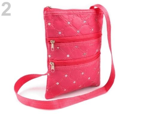 ... Dětská taška 15x20 cm se zipy a flitry ... a313c26954