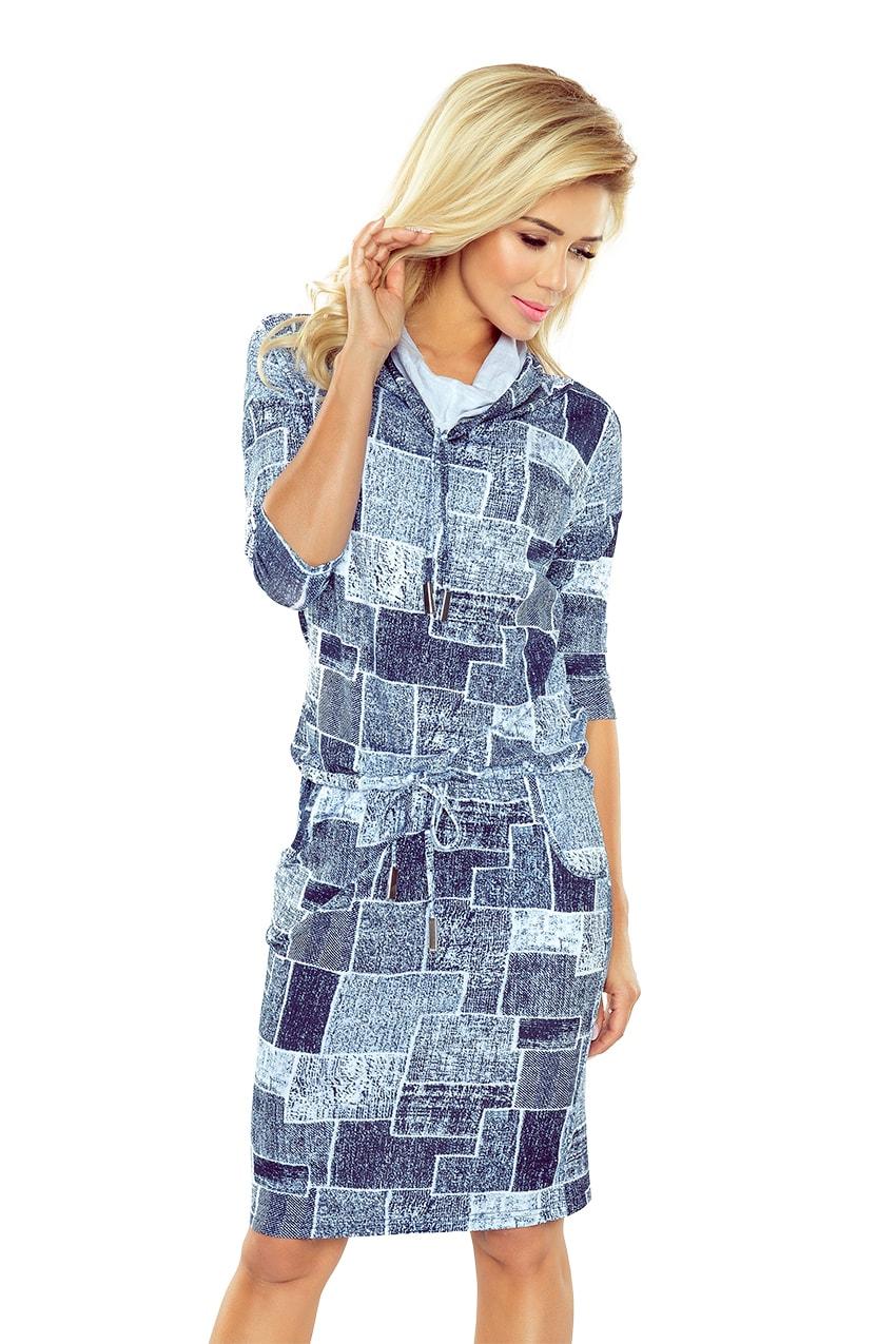 7ce09a6be26c Dámské sportovní šaty 44-17 džínově modrá barva ...