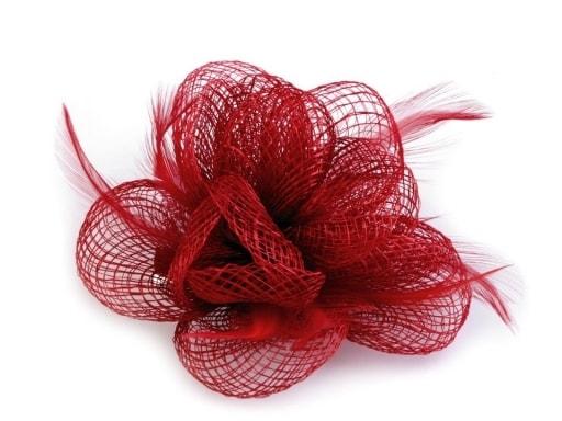 Fascinátor   brož květ Ø10 cm ... 422f113bbe