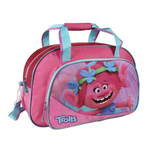 Sportovní taška Trollové Poppy 50 cm 0a58fc7eda