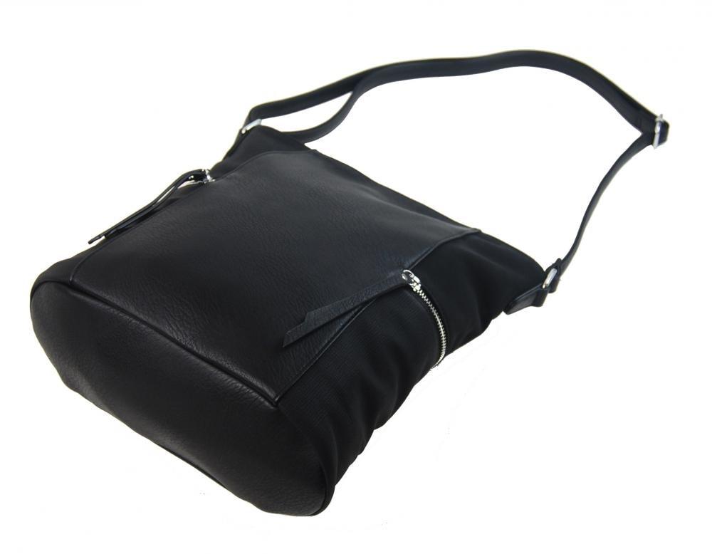 ... Černá dámská crossbody kabelka s bočními kapsami AE-9025 ... 65d1d471490