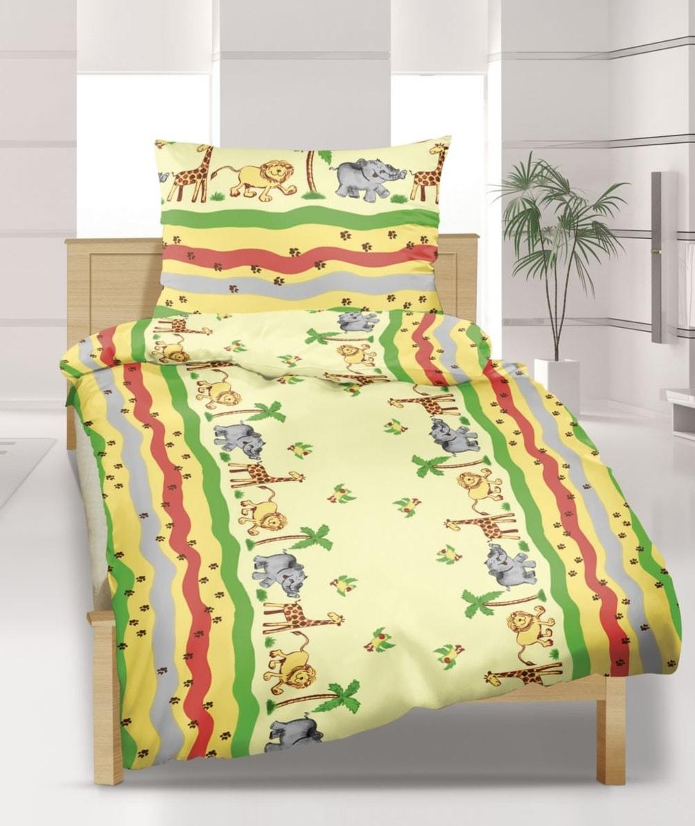 Dětské povlečení krep Agáta Safari - krep  83f3633ba1
